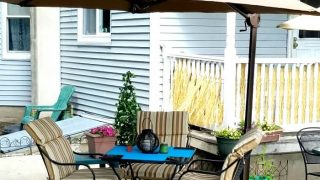 How to Stay Cool on Your Patio While the Kids Play in the Yard
