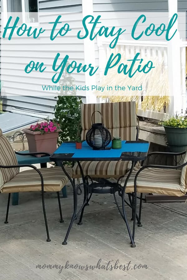 How to Stay Cool on Your Patio