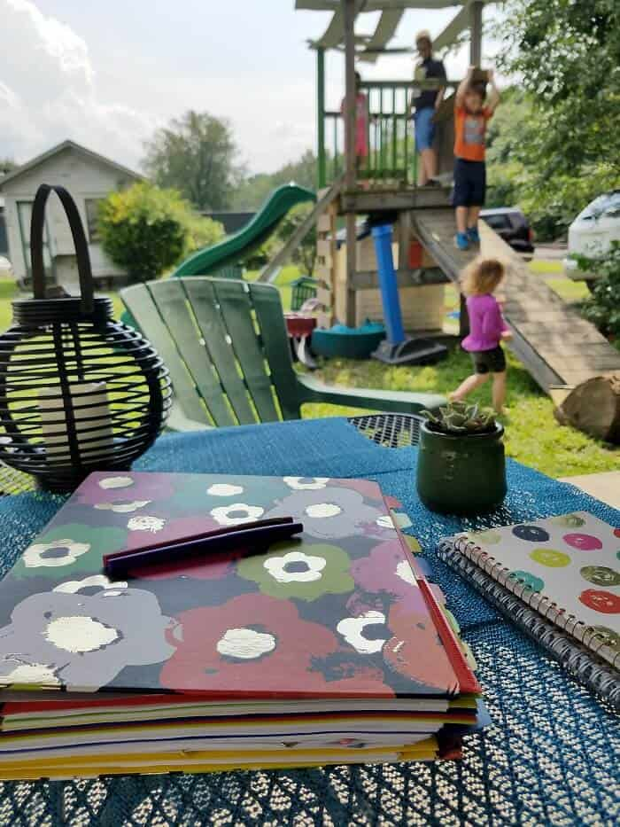 how to stay cool on your patio while kids play in the yard