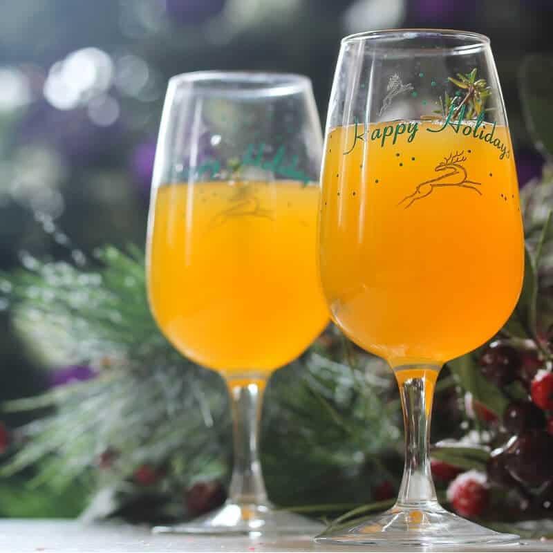 Christmas mimosa