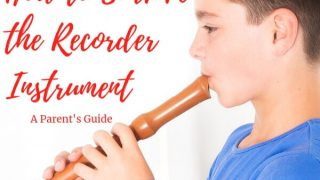 How to Survive the Recorder Instrument and Maybe Even Like It - A Parent's Guide