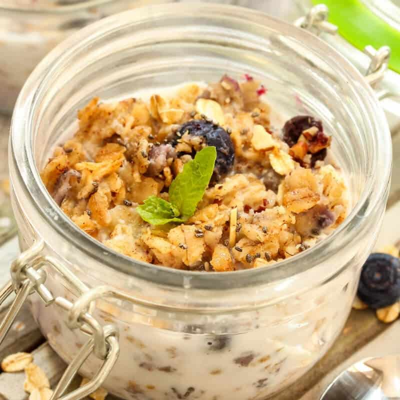 overnight oats for christmas