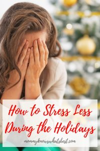 Learn how to stress less during the holidays with these simple but practical tips.