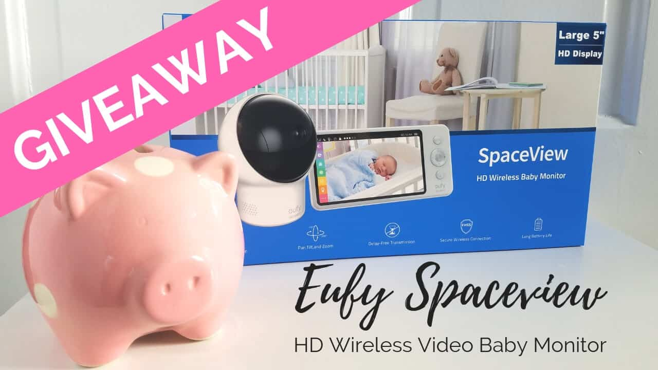 Baby Monitor Giveaway: Enter to win one of three video baby monitors!