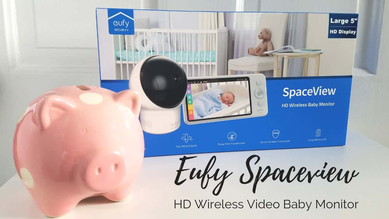 Eufy Spaceview HD Video Baby Monitor
