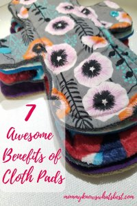 7 Awesome Benefits of Cloth Pads