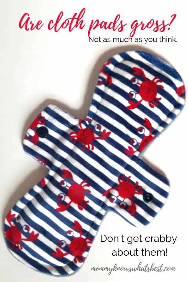Are cloth pads gross? Learn about cloth pads and how you wash reusable pads.