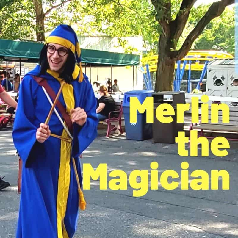 Merlin the Magician Dutch Wonderland
