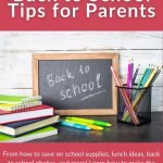 Back to School Tips for Parents 2021