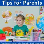 Back to School Tips for Parents First Day