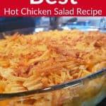 Best Hot Chicken Salad Recipe