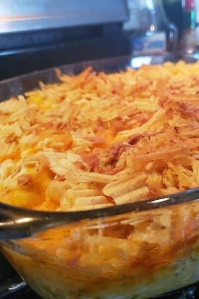 Best Hot Chicken Salad Recipe Comfort Food