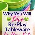 Best Tableware for Kids: Re-Play Recycled Plates, Bowls, and Cups for Kids