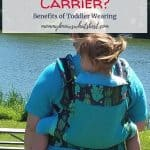 Can I Wear a Toddler in a Baby Carrier