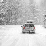 Car Traveling in Winter Emergency Car Kit Checklist