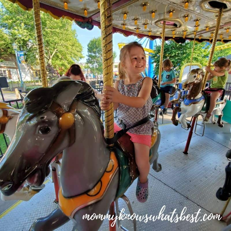 Carousel at Dutch Wonderland