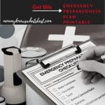Family Emergency Planning Guide Checklist Printable