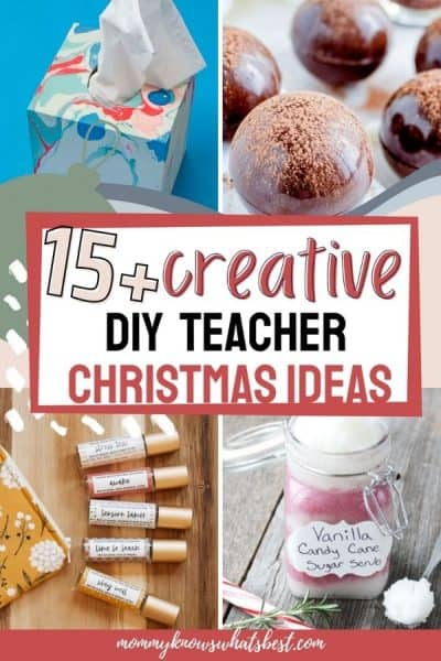 List of Creative DIY Teacher Gift Ideas for Christmas