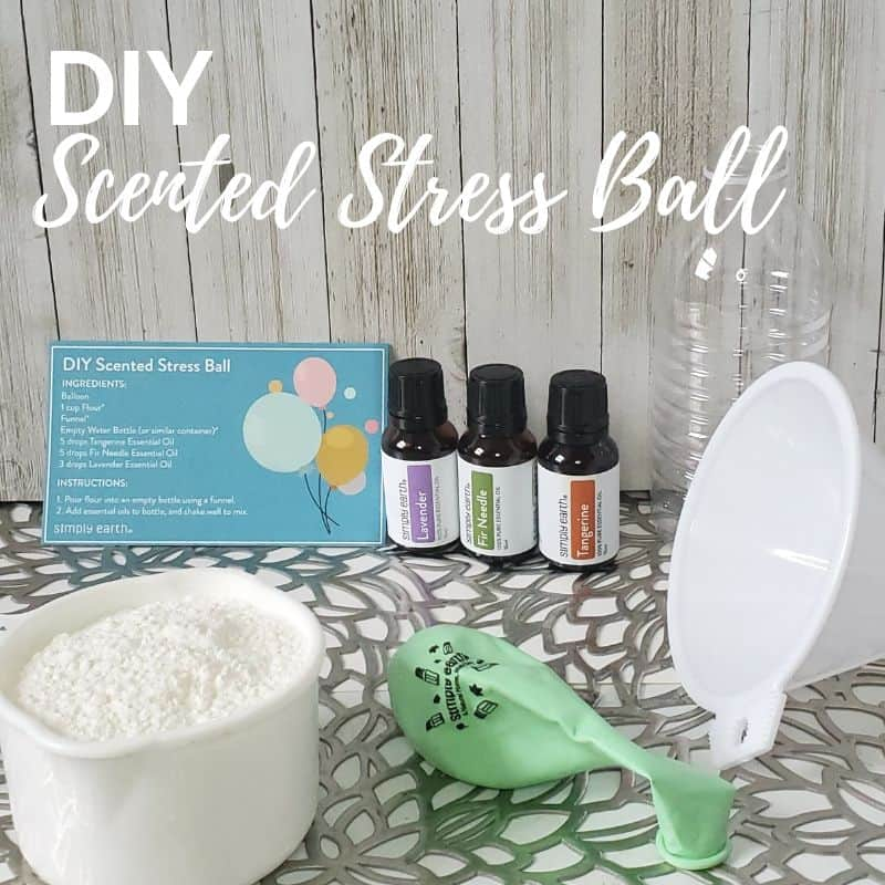 DIY Scented Stress Ball Recipe