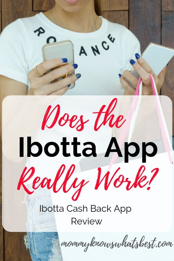 Does the Ibotta App Really Work? Learn how I get cash back rewards from shopping when I use Ibotta! Ibotta Review