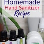 Easy Homemade Natural Hand Sanitizer Recipe