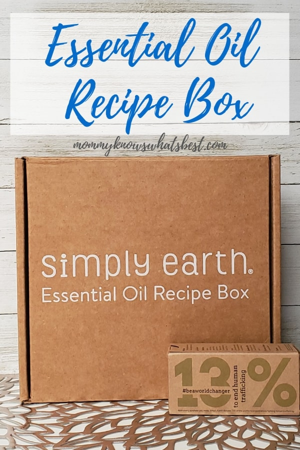 Essential Oil Recipes Box from Simply Earth