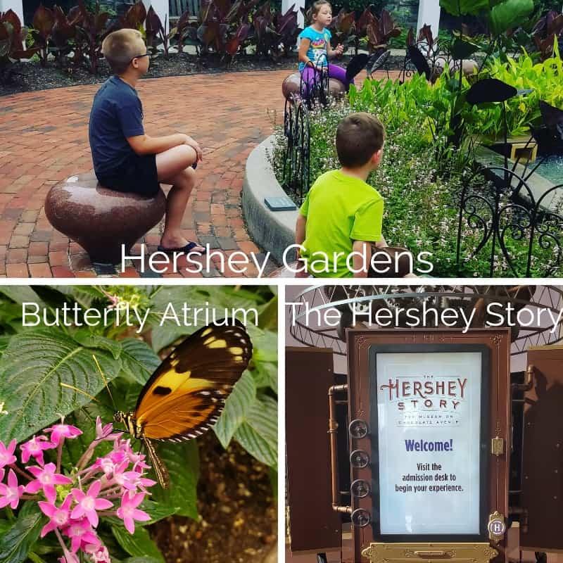 Hershey Gardens, Butterfly Atrium, The Hershey Story