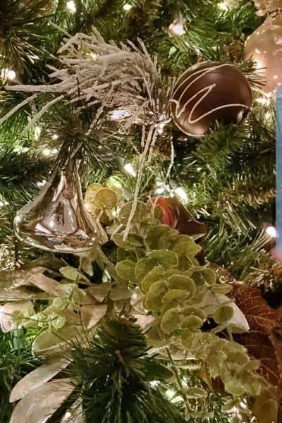 Hershey Lodge Christmas Tree Hershey Kiss Ornament