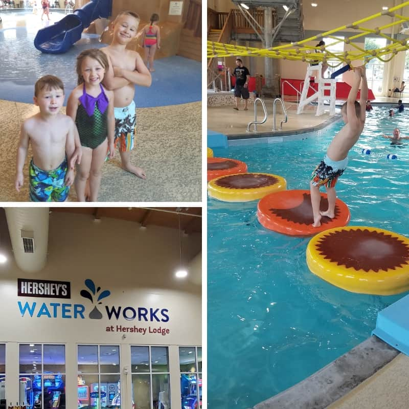 Hershey Water Works Indoor Water Park at the Hershey Lodge