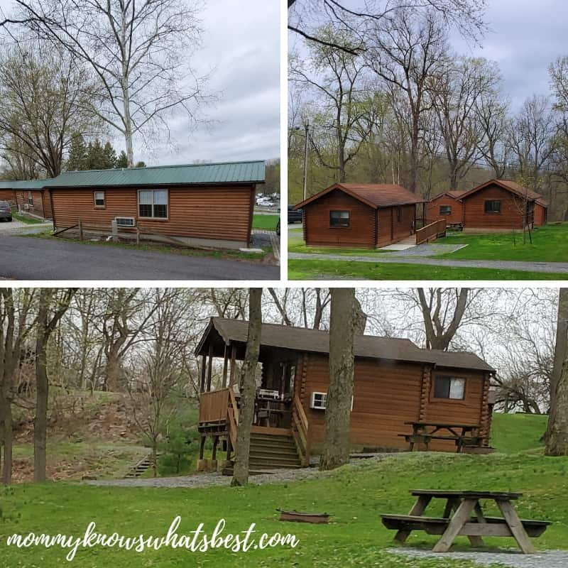 Hersheypark Camping Resort Log Cabins