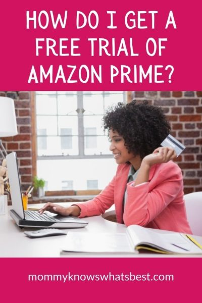 How do I get a free trial of Amazon Prime