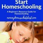 Homeschooling Resources for Beginners