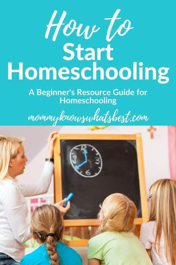 How to Begin Homeschooling: A Resource Guide for Parents