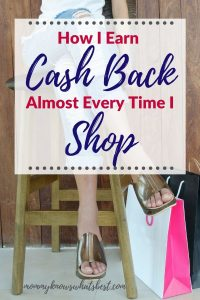 How to Earn Cash Back When You Shop
