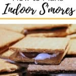 How to Make Indoor Smores Recipe