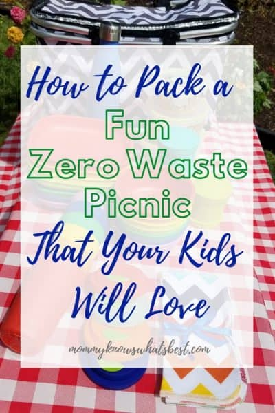 How to Pack a Fun Picnic for Kids that is Zero Waste and Eco-Friendly