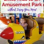 How to Take Little Kids to an Amusement Park without Losing Your Mind