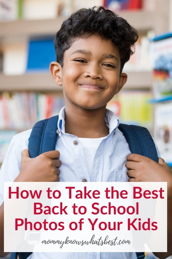 How to Take the Best First Day of School Photos