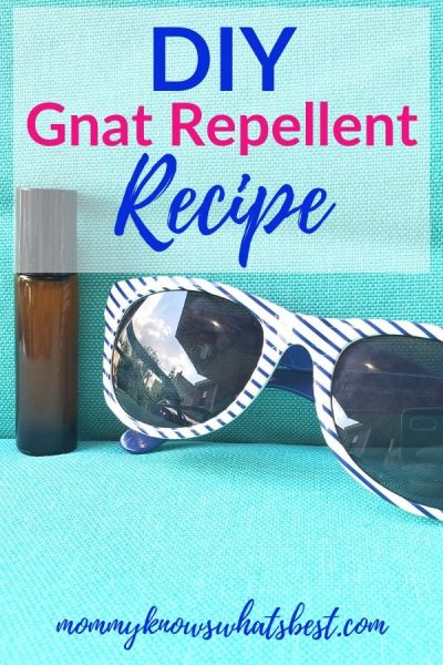 Natural Gnat Repellent Recipe