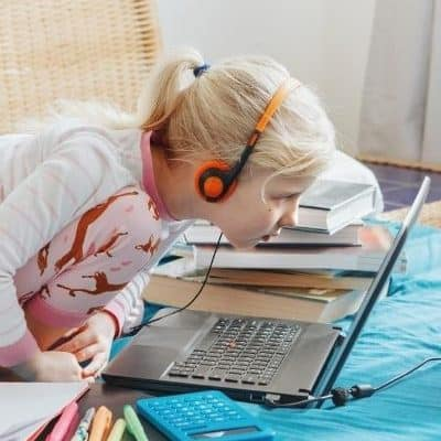Organize Home for Virtual School