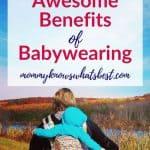 Practical Benefits Of Babywearing