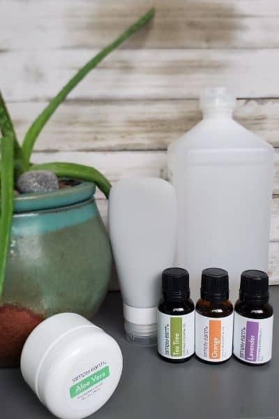 Recipe for Homemade Hand Sanitizer