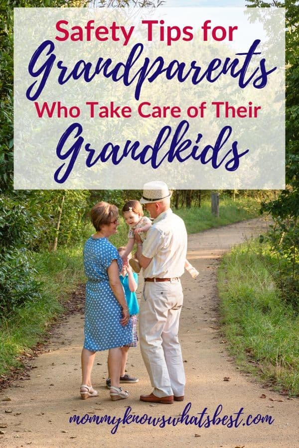 Safety Tips for Grandparents Who Take Care of Their Grandkids