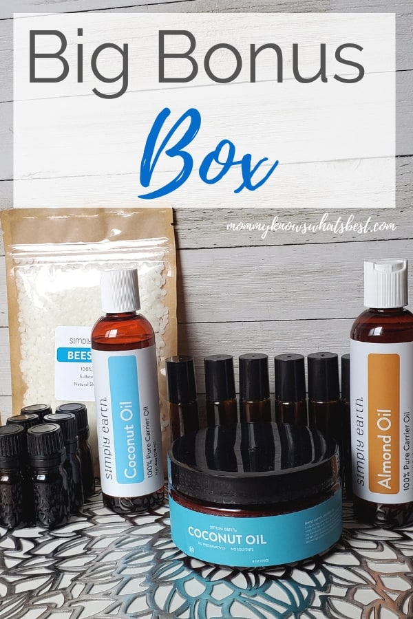 Simply Earth Essential Oil Big Bonus Box