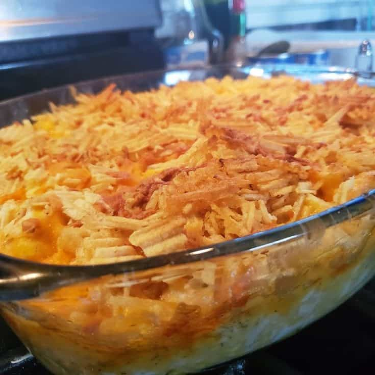 the best hot chicken salad casserole recipe