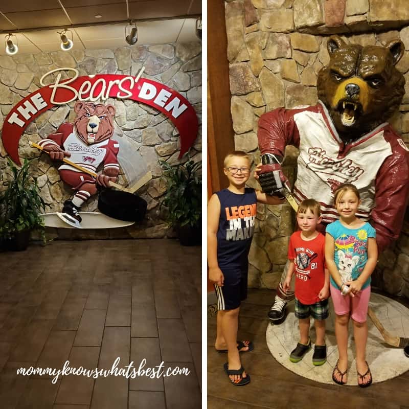 The Hershey Bears Restaurant The Bear's Den