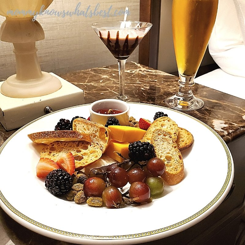 The Hotel Hershey Room Service
