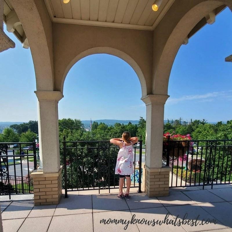 The Hotel Hershey views