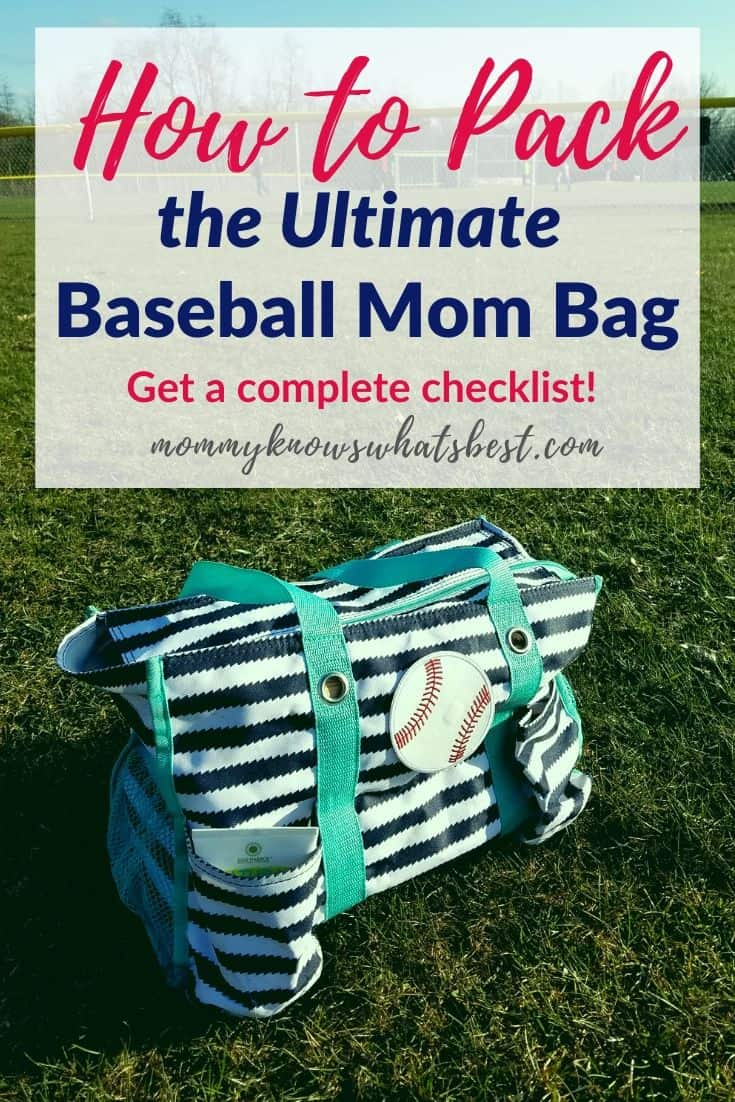 Ultimate Baseball Mom Survival Bag Checklist