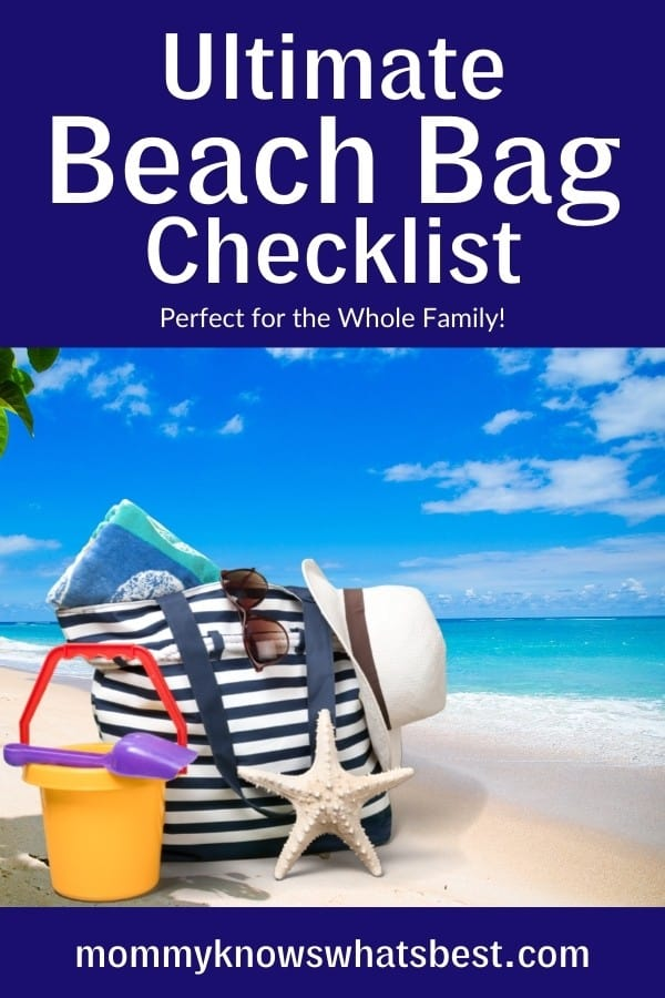 Ultimate Beach Bag Checklist for the Family